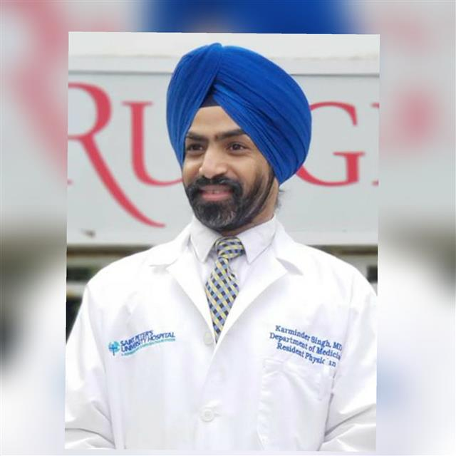 Patiala-born doc commissioned as Captain in US army