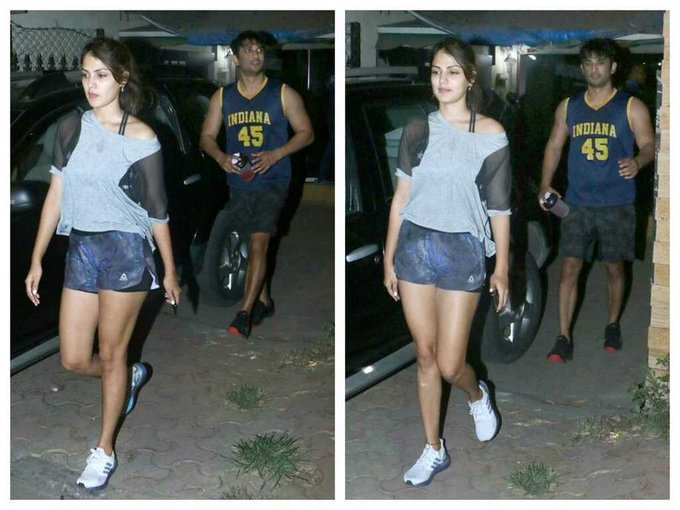 Sushant Singh Rajput's last picture with rumoured girlfriend Rhea ...