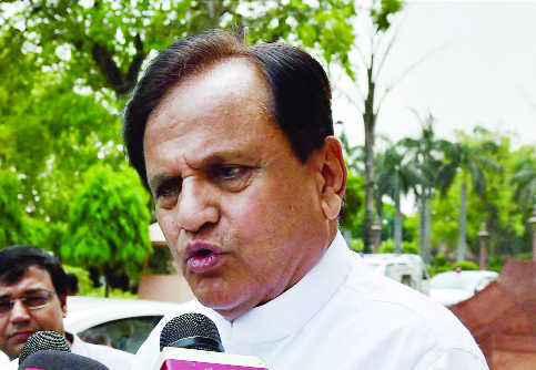 ED questions Congress leader Ahmed Patel for 8 hours in money-laundering case
