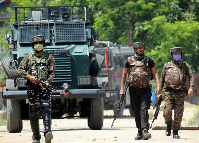 Five militants killed in encounter with security forces in J-K's Shopian district