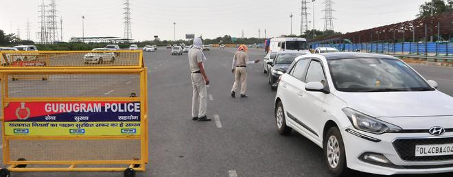 Now, no travel pass to cross Delhi-Haryana border