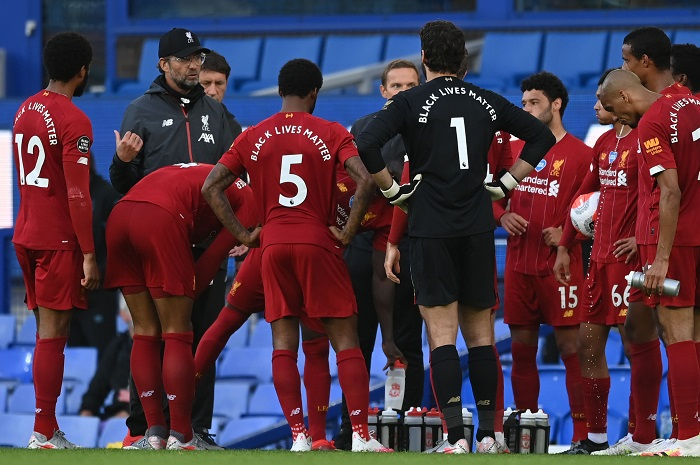 Liverpool lack Goodison spark in goalless finish against Everton