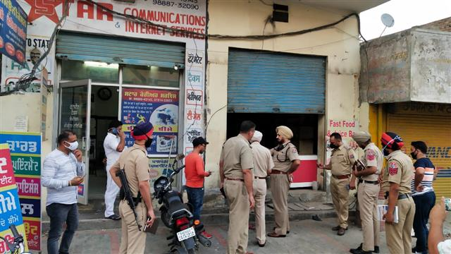 Parcel blast in Moga leaves one injured