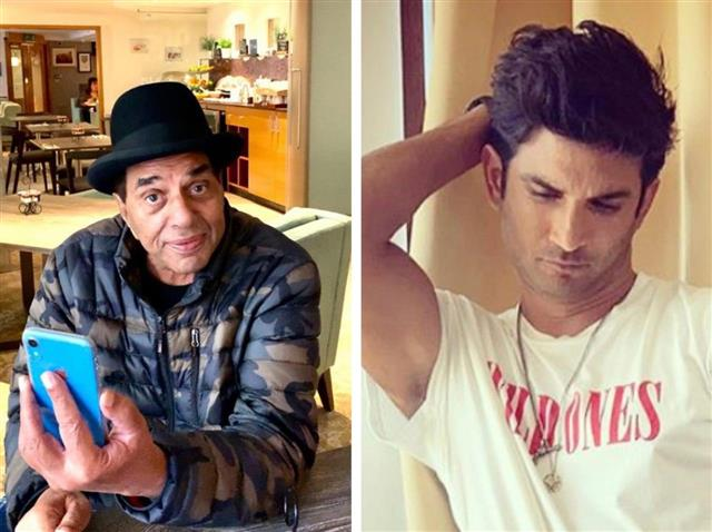 On Sushant's death, Dharmendra says 'this beautiful, beloved show business is very cruel'