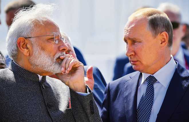 India's tango with Russia to dissuade China