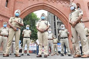17 asymptomatic Punjab cops test positive for COVID in random sampling