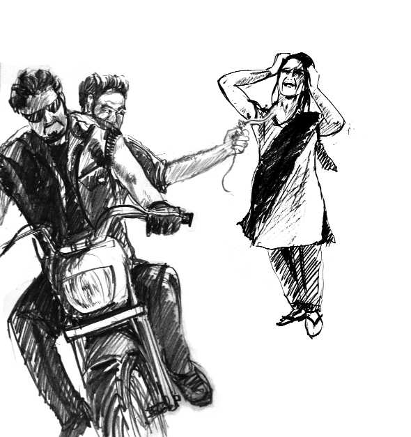Dismissed constable among two arrested for snatching