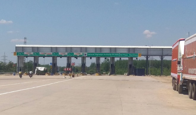 Toll plazas re-activated at Behram, Kathgarh