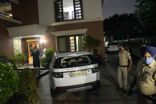 City resident held for firing at Chandigarh hotelier's house