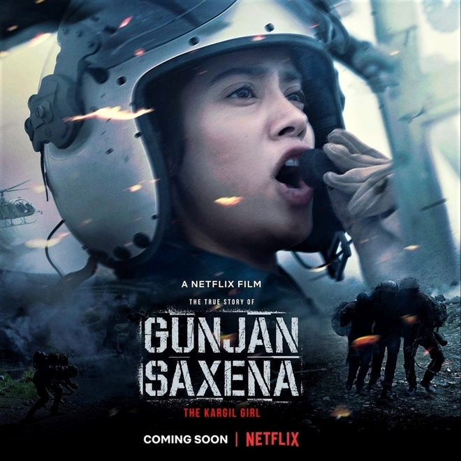 Soon Gunjan Saxena On Netflix