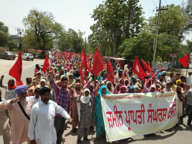 In Sangrur, Dalits allege foul play in land allotment