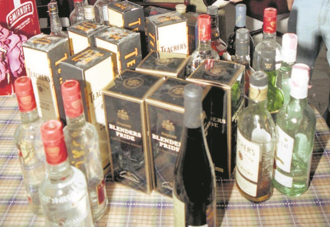 Amritsar rural police top in recoveries of illicit liquor