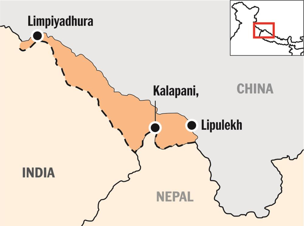 Nepal alters map, India terms move untenable
