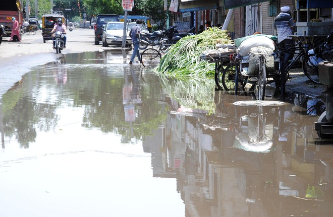 2-hour rain exposes poor drainage system in Amritsar