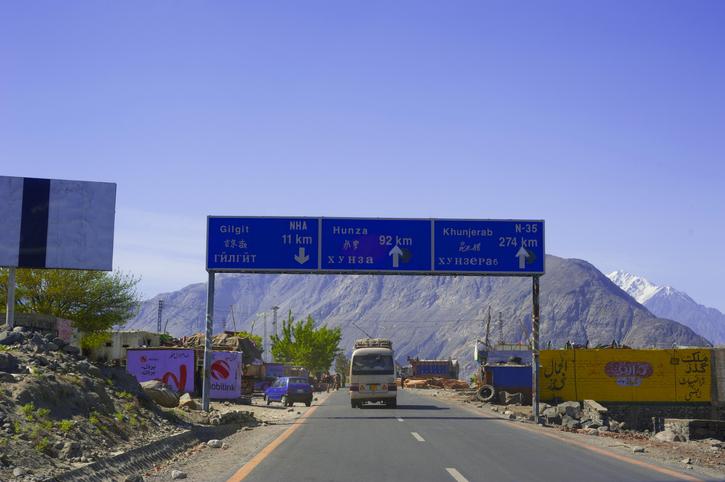 India, Pakistan temperatures rise over Gilgit