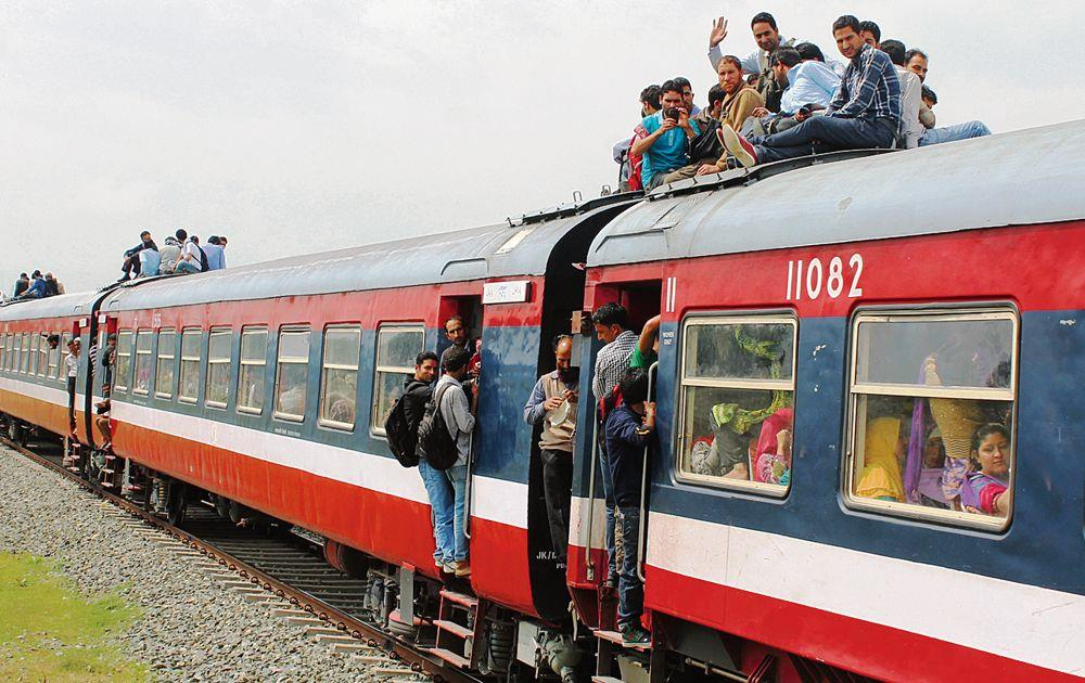 Focus on railway resources, not private push