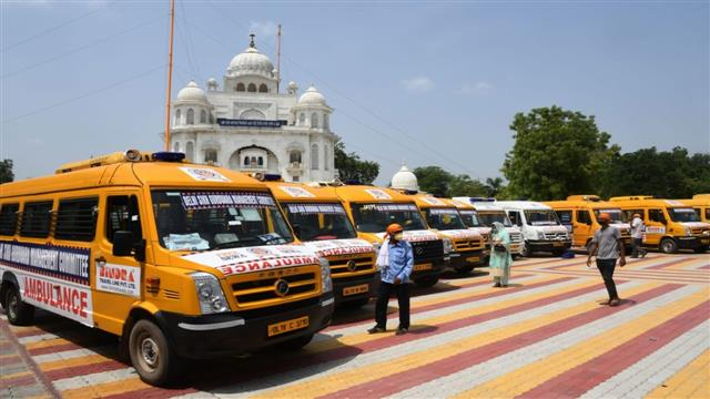 Delhi Sikh body starts free ambulance service for Covid-19 patients
