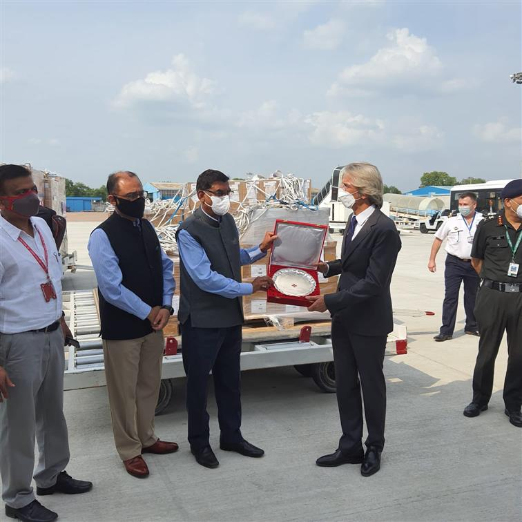 France sends ventilators, test kits to assist India in COVID-19 fight