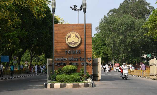 Doctors at Chandigarh's PGI battle burnout,as COVID-19 surge continues