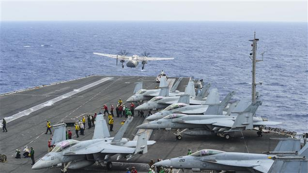 US sends aircraft carriers to South China Sea during Chinese military drills