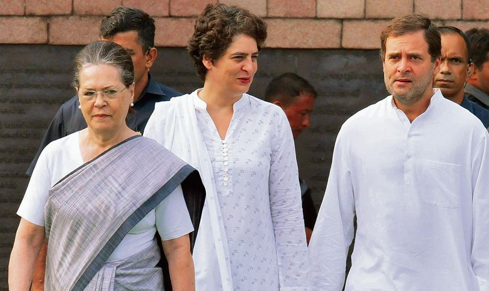 Cong fumbles over RGF & Priyanka house rows