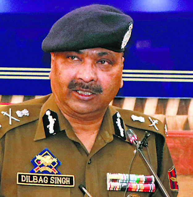 Law and order situation has improved, violence down in J&K: DGP Dilbagh Singh