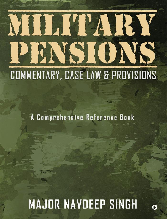 Book on military pensions released