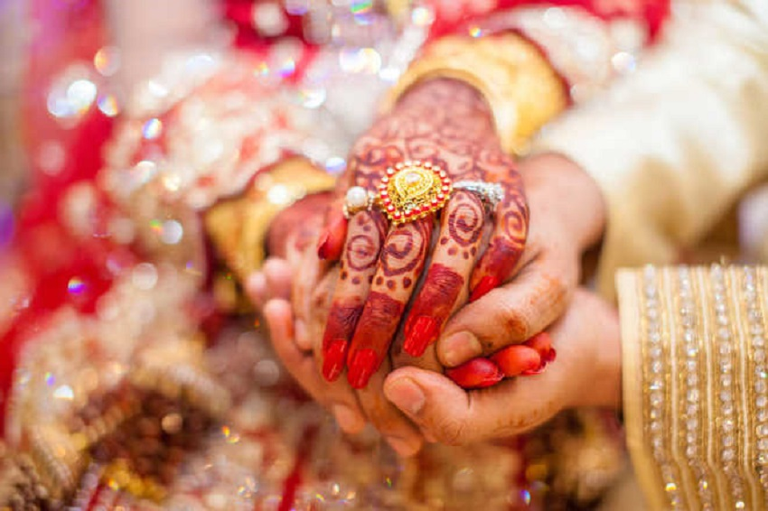 MP man marries girlfriend, bride chosen by parents at same ceremony