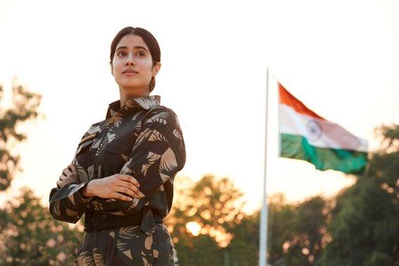 Netflix Sets Date For Janhvi Kapoor Starrer Gunjan Saxena The Kargil Girl