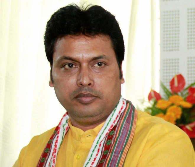 Tripura CM Biplab Deb's 'anti-Sikh, anti-Jat' comments: Surjewala seeks apology, action