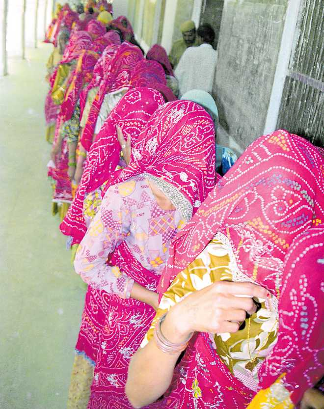 Haryana's quota for women