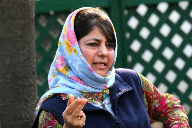 Mehbooba slams Pakistan for stopping construction of Hindu temple in Islamabad