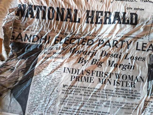 Indian newspapers from 1966 recovered from melting French glacier