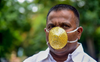 Pune man wears mask made of gold worth nearly Rs 3 lakh