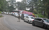 Shimla entry-points choked as people head to state without documents; Covid safety norms gone for toss too