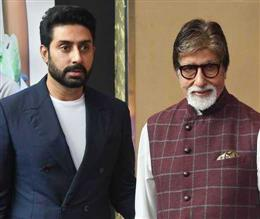 Bollywood megastar Amitabh Bachchan, son Abhishek test positive for coronavirus