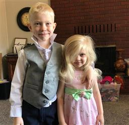 6-year-old gets 90 stitches saving his sister from dog attack; named 'honorary World Champ'
