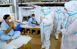Record spike of 28,701 Covid-19 cases takes India's tally to 8.78 lakh