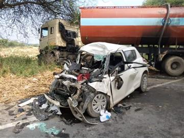 Five killed, one injured in road accident in Bathinda
