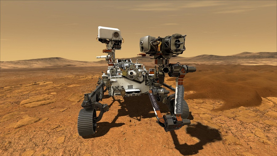 NASA gets Perseverance Mars rover ready to fly : The ...