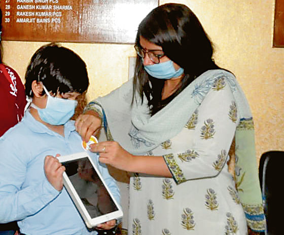 10-yr-old Jalandhar boy launches video on Covid awareness