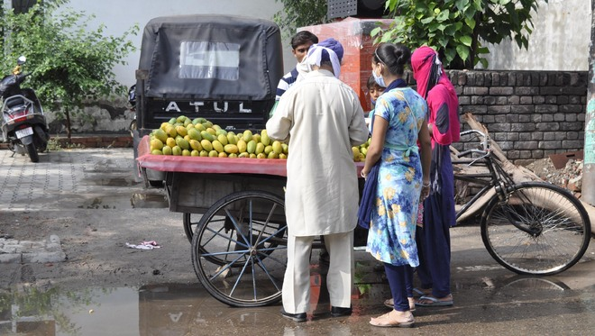 Homemakers prefer to visit shops for essential items amid pandemic
