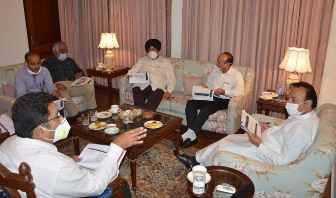 MP reviews progress of Jalandhar Smart City project work