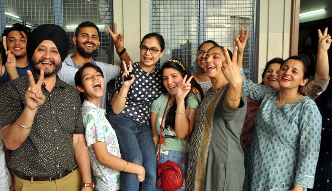 Kirtideep tops Amritsar city with 99.6% marks