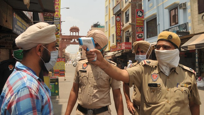 Police to adopt tough stance in walled city
