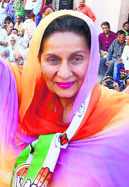 Patiala MP Preneet Kaur criticises Centre for scrapping MPLAD funds