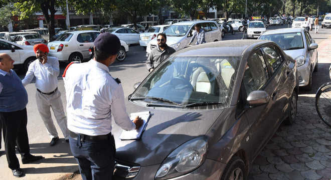 Chandigarh set for on-the-spot traffic challan payment
