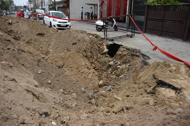 No lessons learnt from road cave-ins