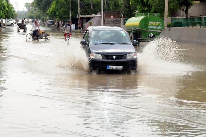 Bathinda waterlogged