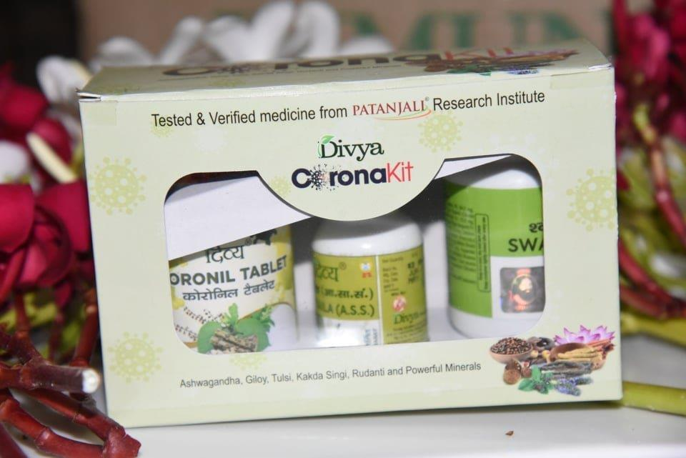 Nod to Patanjali's Coronil, not a drug for Covid